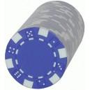 Paquete de recambio de 25 fichas DICE azules
