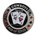 Card Guard Cowboys Plateado